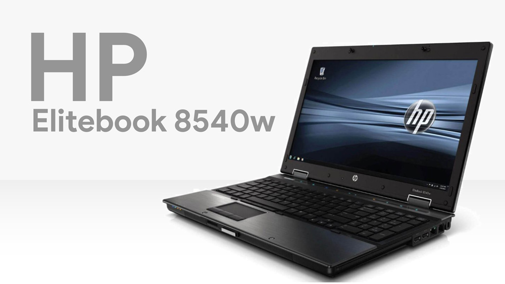 لپ تاپ HP elitebook 8540w