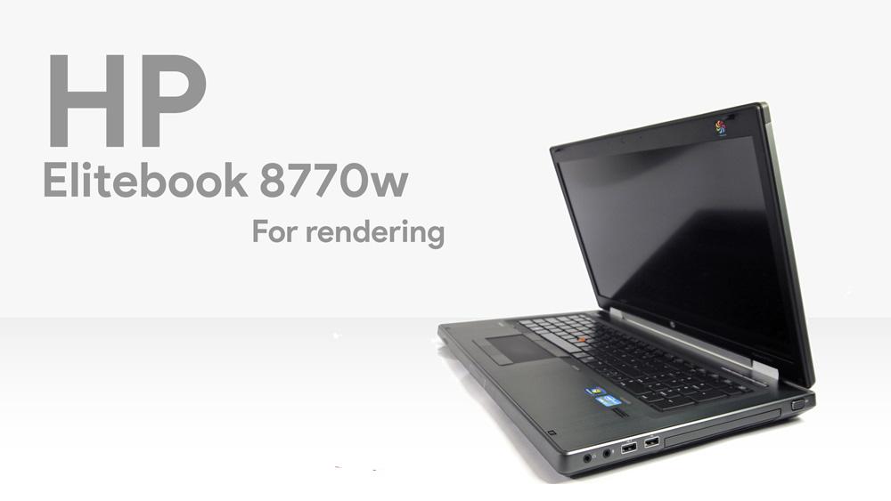 لپ تاپ Hp elitebook 8770w