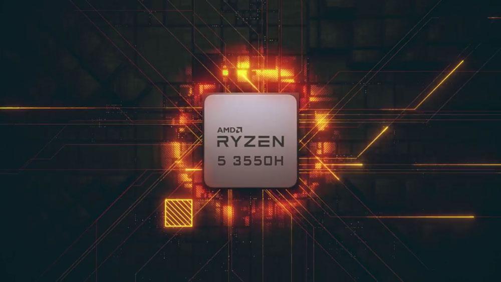 پردازنده Ryzen 5 3550H