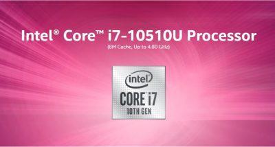 پردازنده intel i7-10510U